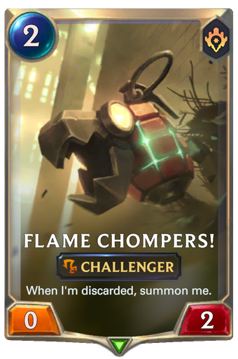 Flame Chompers! Card Image