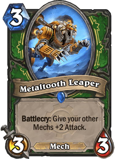 Metaltooth Leaper Card Image