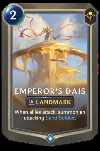 Emperor's Dais Card Image
