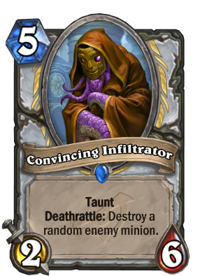 Convincing Infiltrator Card Image