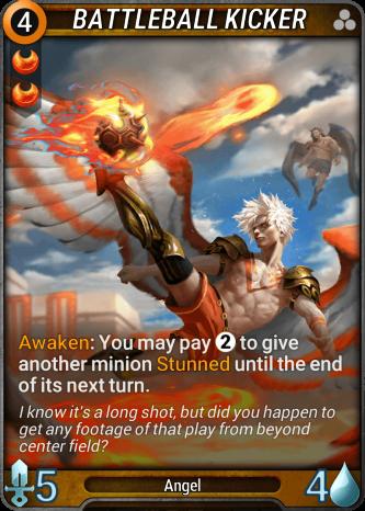 Battleball Kicker Card Image
