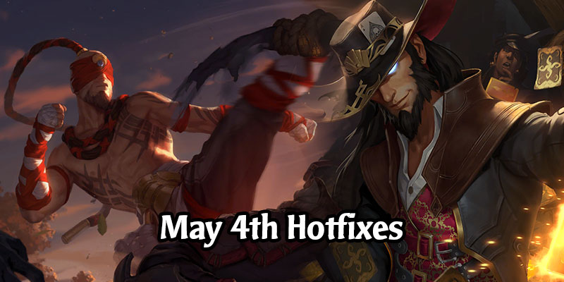 Runeterra Hotfixes for May 4th Focuses on Champions - Sejuani, Lee Sin, Vi, & Twisted Fate