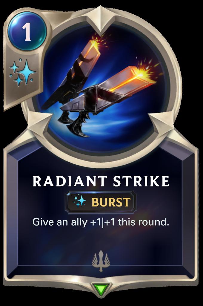 Radiant Strike Card Image