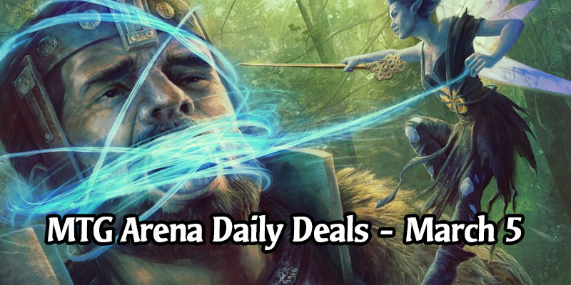 Daily Store Deals in MTG Arena for March 5, 2020 - 98% Off Didn't Say Please & More