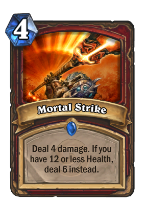 Mortal Strike Card Image