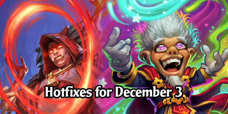 Hearthstone Hotfixes - Nazmani Bloodweaver Fixed, Whizbang's Lost Decks, Darkmoon Arena, Quests, and More!