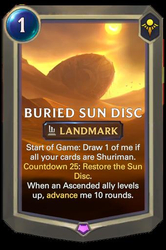 Buried Sun Disc Card Image