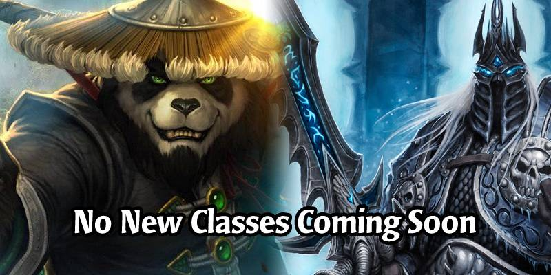 Monks and Death Knights? No New Hearthstone Class is Planned for at Least the Next 2 Years