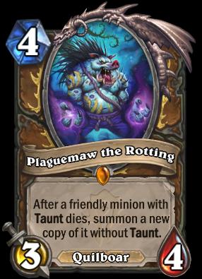 Plaguemaw the Rotting Card Image