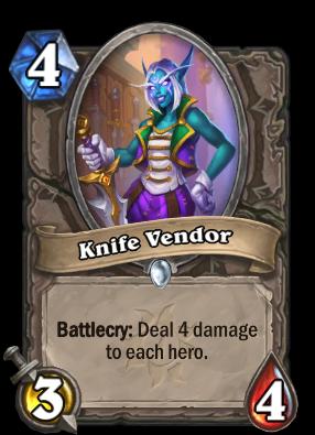 Knife Vendor Card Image