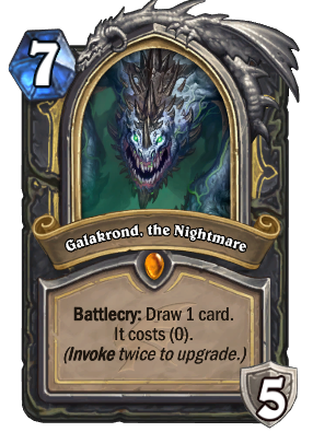 Galakrond, the Nightmare Card Image