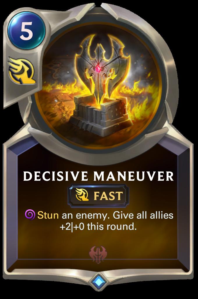 Decisive Maneuver Card Image