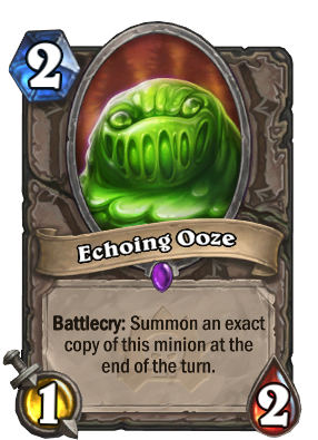 Echoing Ooze Card Image