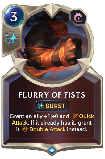 Flurry of Fists Card Image