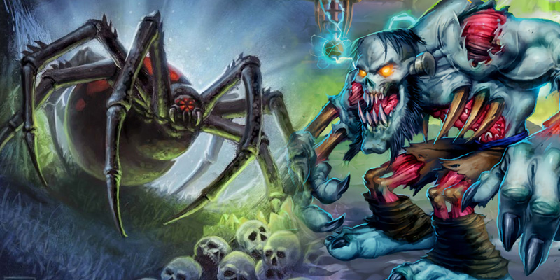 The Forgotten Wilds of Hearthstone - Crawlies, Robots, and Brothers