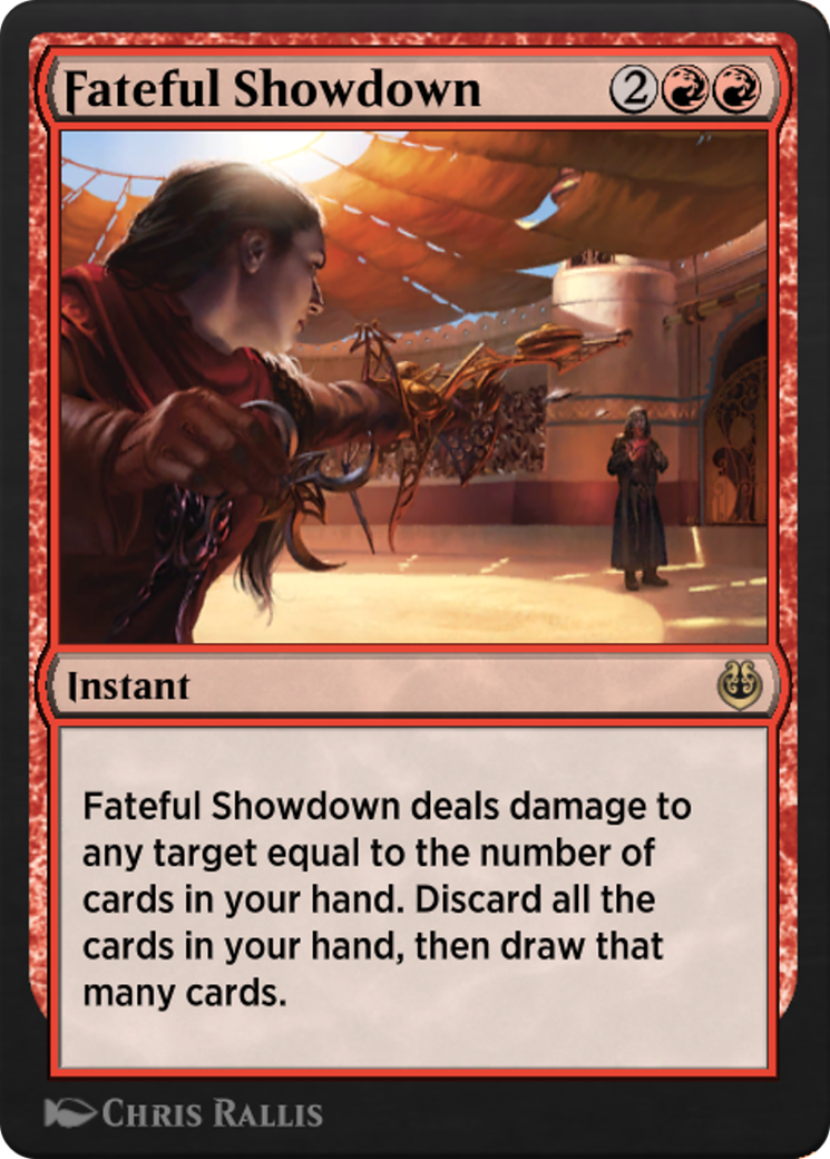 Fateful Showdown Card Image