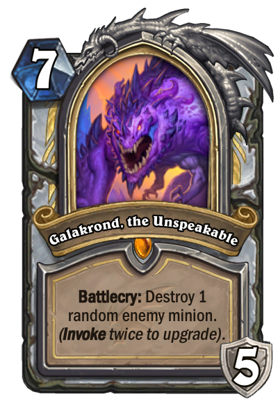 Galakrond, the Unspeakable Card Image