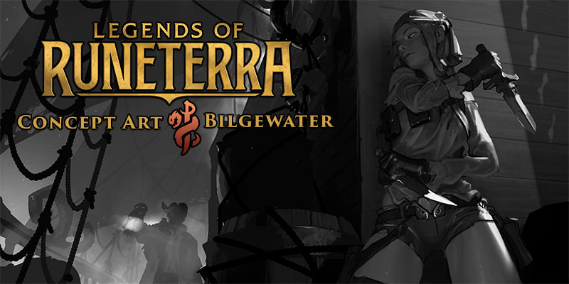 Legends of Runeterra Concept Art Spotlight - Bilgewater