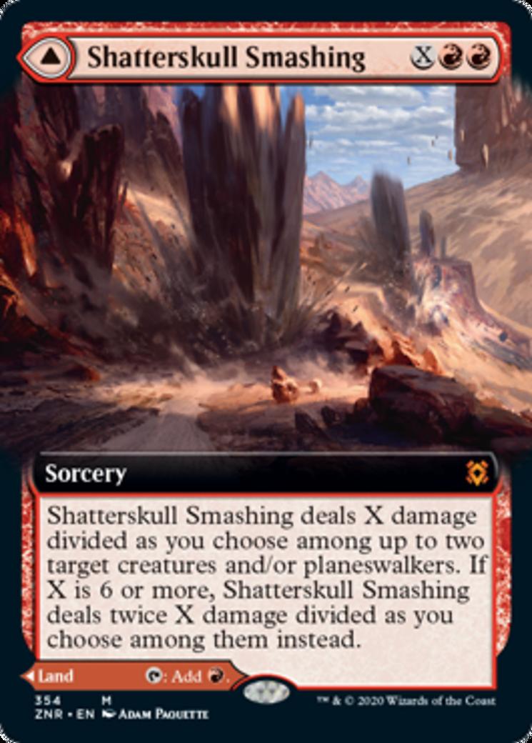 Shatterskull Smashing // Shatterskull, the Hammer Pass Card Image