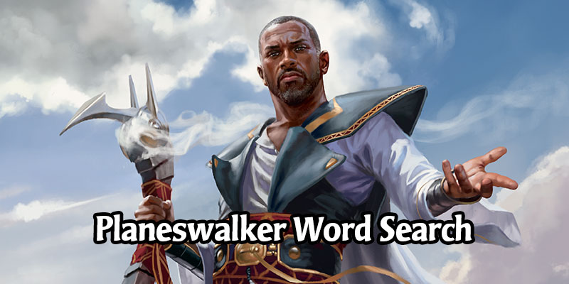 The Planeswalkers of Magic Word Search