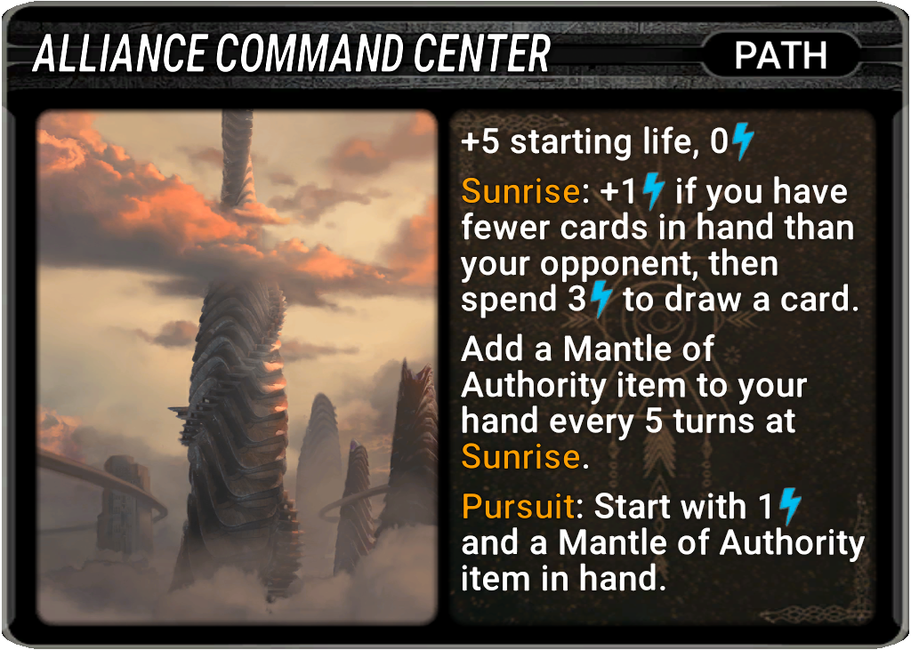 Alliance Command Center Card Image