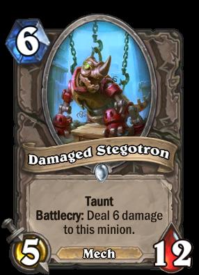 Damaged Stegotron Card Image