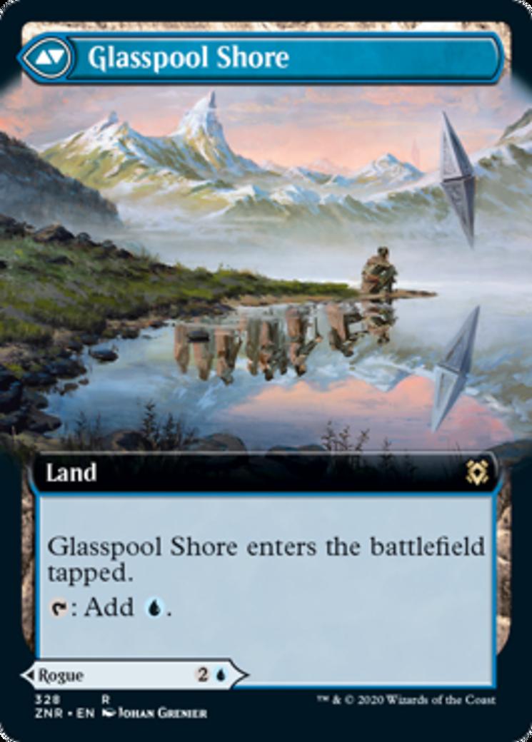 Glasspool Mimic // Glasspool Shore Card Image