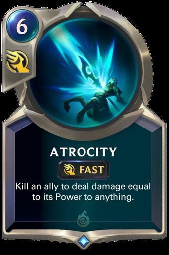 Atrocity Card Image