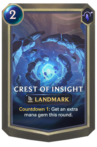 Crest of Insight Card Image