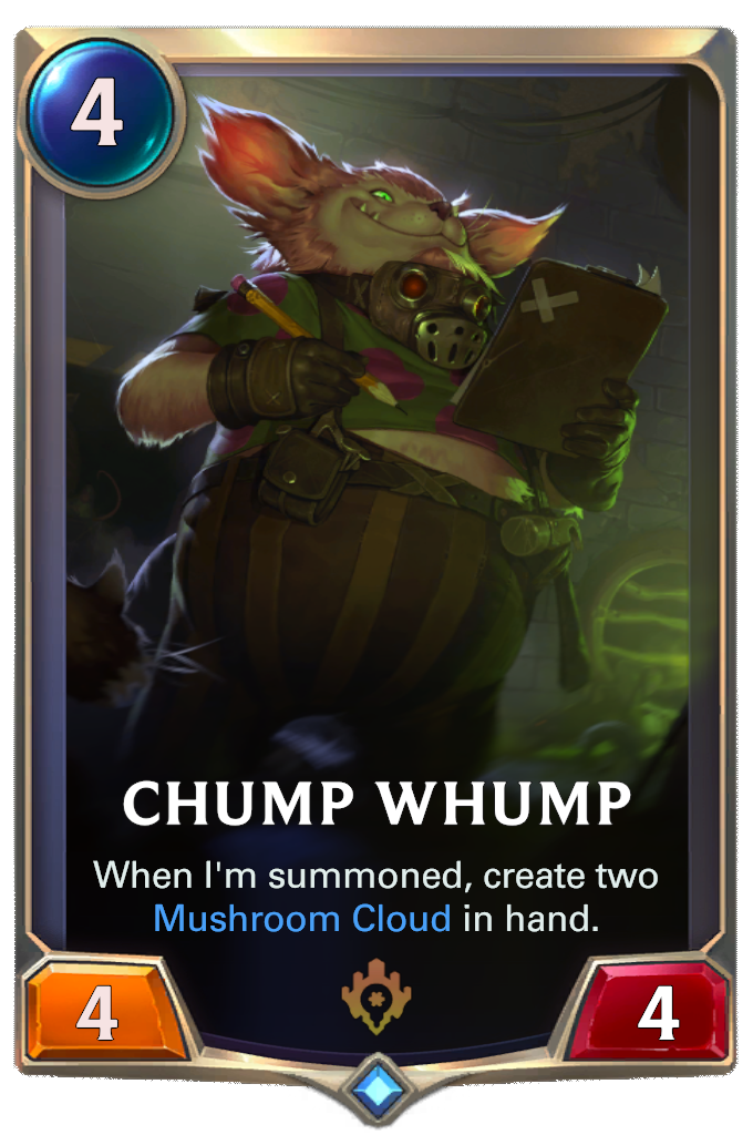 Chump Whump Card Image