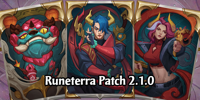 Runeterra Patch 2.1.0 - Aphelios Joins, Lunar Celebration, Miss Fortune, Viktor, and Riven Balance, and More!