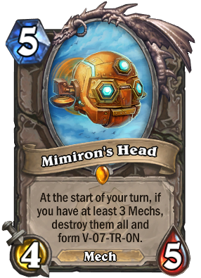 Mimiron's Head Card Image