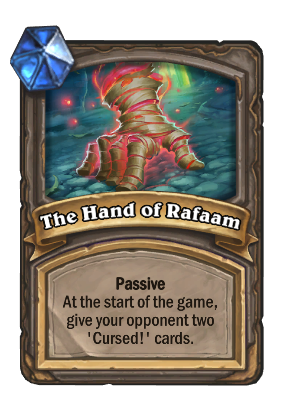 The Hand of Rafaam Card Image