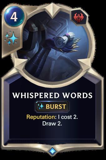 Whispered Words Card Image