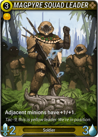 Magpyre Squad Leader Card Image