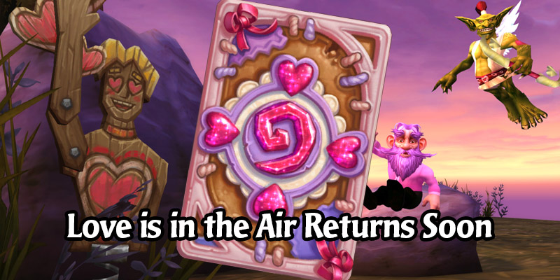Hearthstone's Love is in the Air Card Back Is Returning Via the Shop Soon