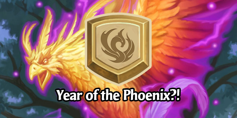 Hearthstone's New Year May Have Been Leaked - Year of the Phoenix?