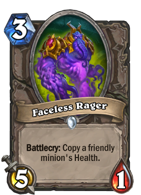 Faceless Rager Card Image