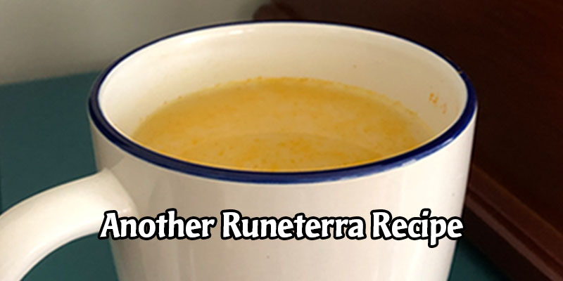 Another Runeterra Recipe from the Riot Faction Wars Event