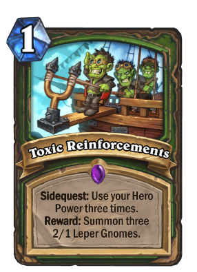 Toxic Reinforcements Card Image