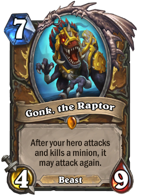 Gonk, the Raptor Card Image