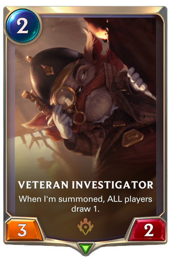 Veteran Investigator Card Image