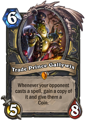 Trade Prince Gallywix Card Image