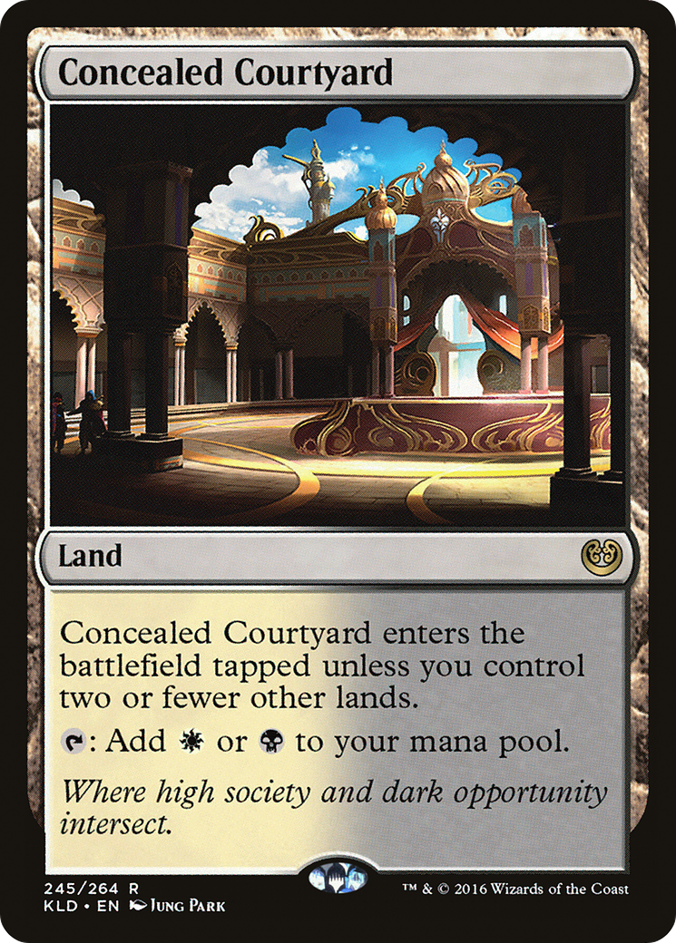 Concealed Courtyard Card Image