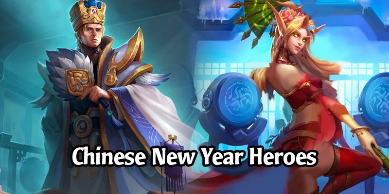 Chinese New Year Bundles Are Coming to Hearthstone With 4 New Collectible Heroes Featuring the Three Kingdoms Period