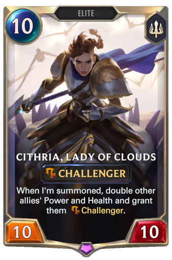 Cithria, Lady of Clouds Card Image