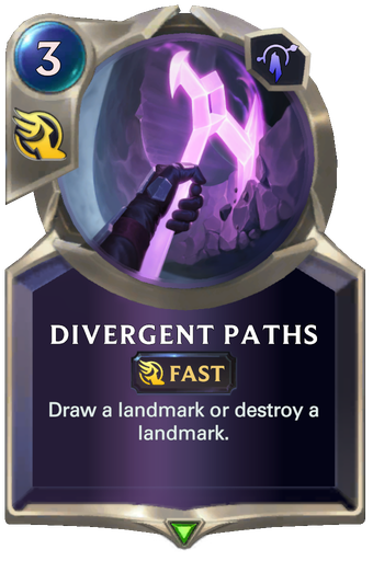 Divergent Paths Card Image