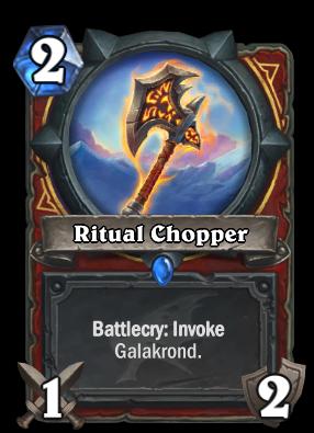 Ritual Chopper Card Image