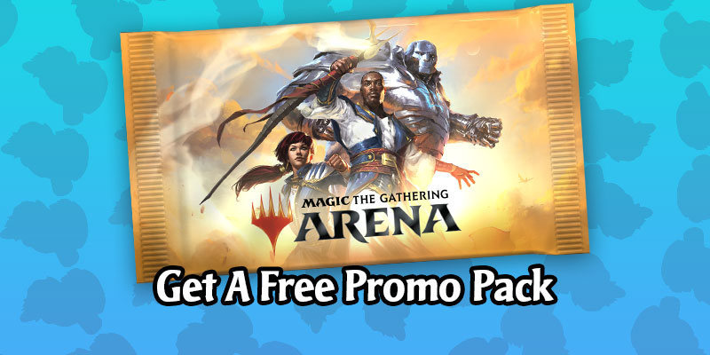 Get a Free MTG Arena Promo Pack With an In-Game Code!