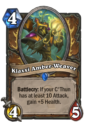 Klaxxi Amber-Weaver Card Image
